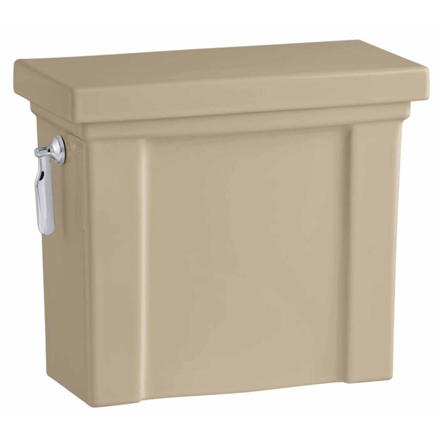 KOHLER Tresham Mexican Sand 1.28-GPF (4.85-LPF) 12 Rough-In Single-Flush High-Efficiency Toilet Tank