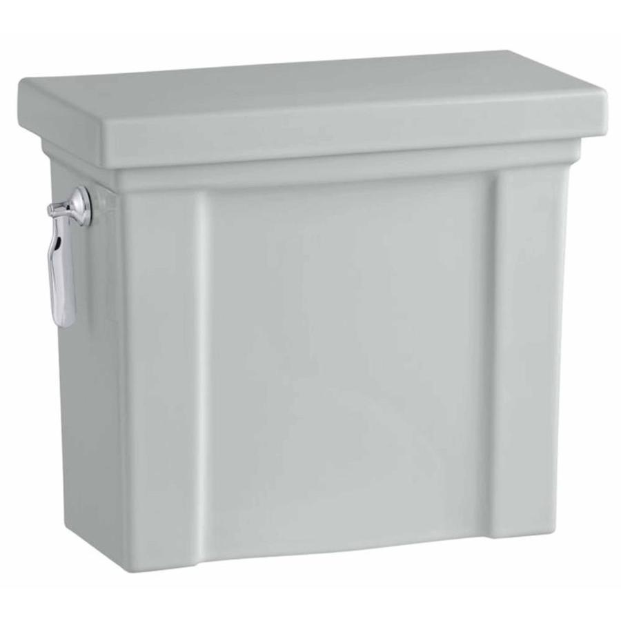 KOHLER Tresham Ice Grey Single-Flush High-Efficiency Toilet Tank