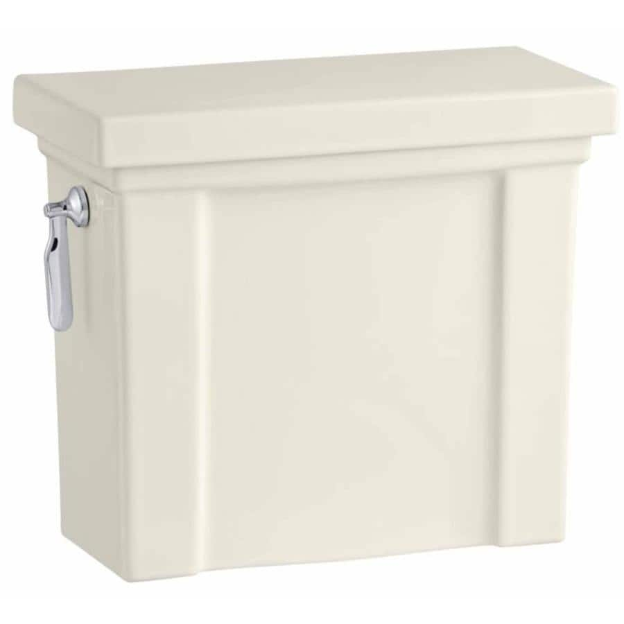 KOHLER Tresham Biscuit 1.28-GPF Single-Flush High-Efficiency Toilet Tank