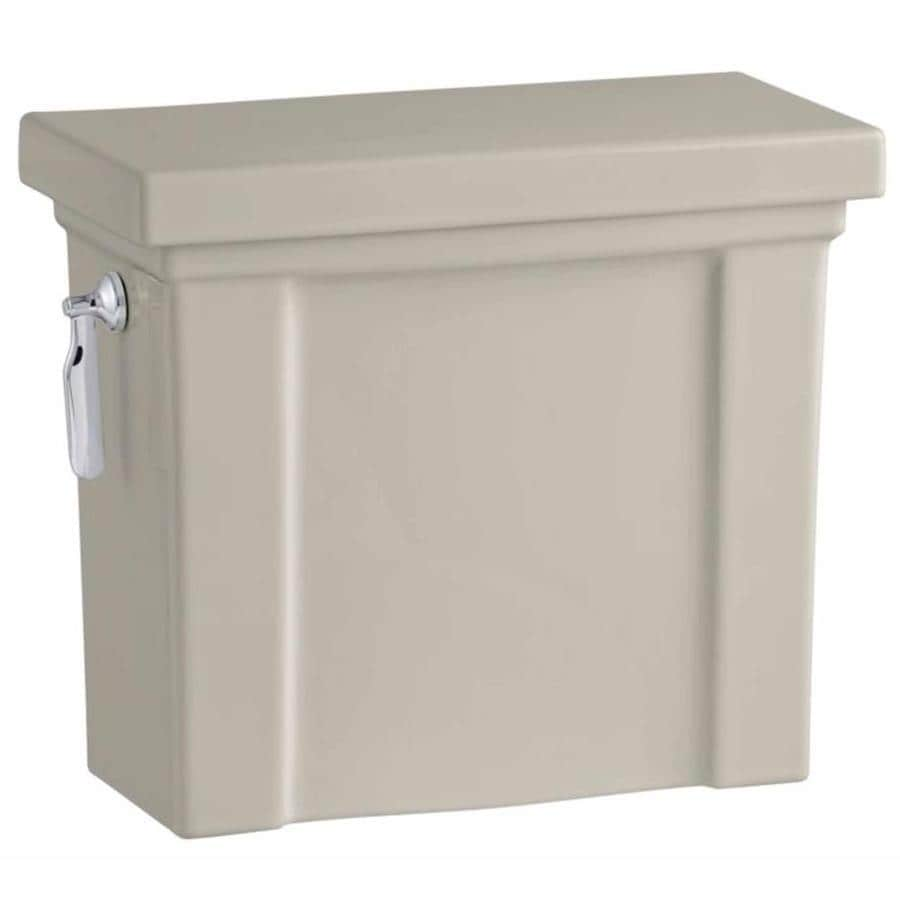 KOHLER Tresham Sandbar 1.28-GPF (4.85-LPF) 12 Rough-In Single-Flush High-Efficiency Toilet Tank