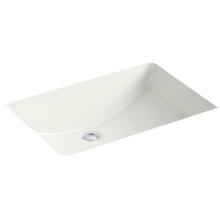 Shop kohler ladena dune undermount rectangular bathroom Kohler ladena undermount bathroom sink