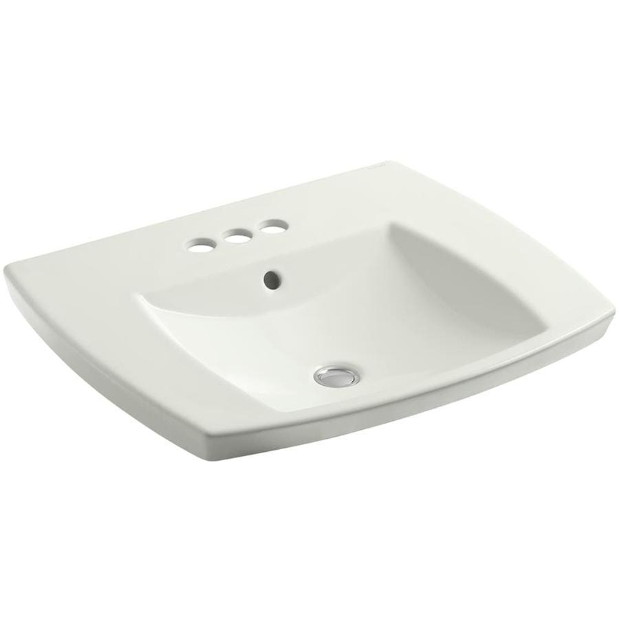 KOHLER Kelston Dune Drop-in Rectangular Bathroom Sink with Overflow