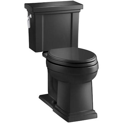Kohler Tresham Black Watersense Elongated Chair Height 2