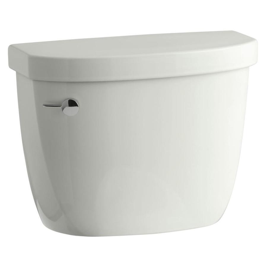 KOHLER Cimarron Dune 1.28-GPF (4.85-LPF) 12-in Rough-In Single-Flush High-Efficiency Toilet Tank