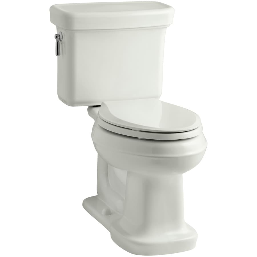 KOHLER Bancroft 1.28 Dune WaterSense Elongated Chair Height 2-Piece Toilet