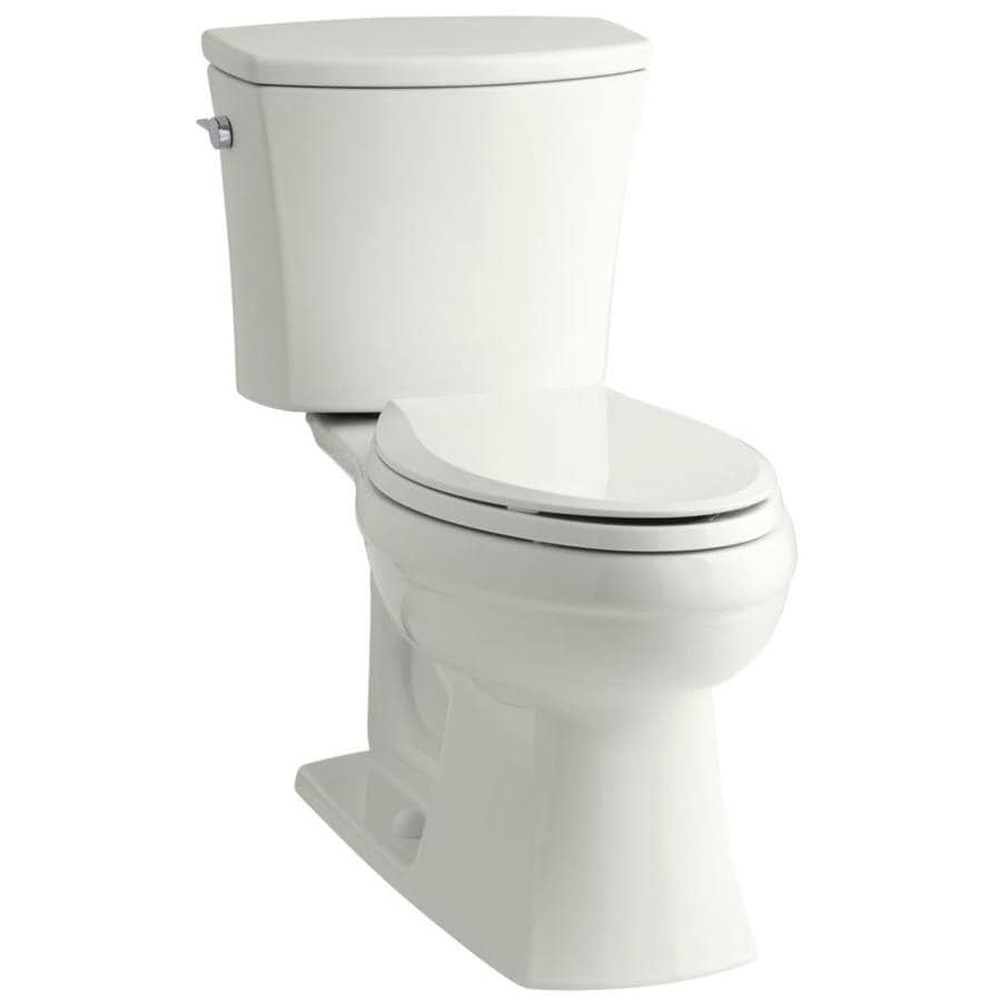 KOHLER Persuade Due  Elongated Standard Height 2-piece Toilet 12-in Rough-In Size