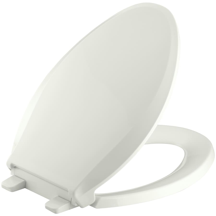 KOHLER Grip-Tight Cachet Plastic Slow-Close Toilet Seat