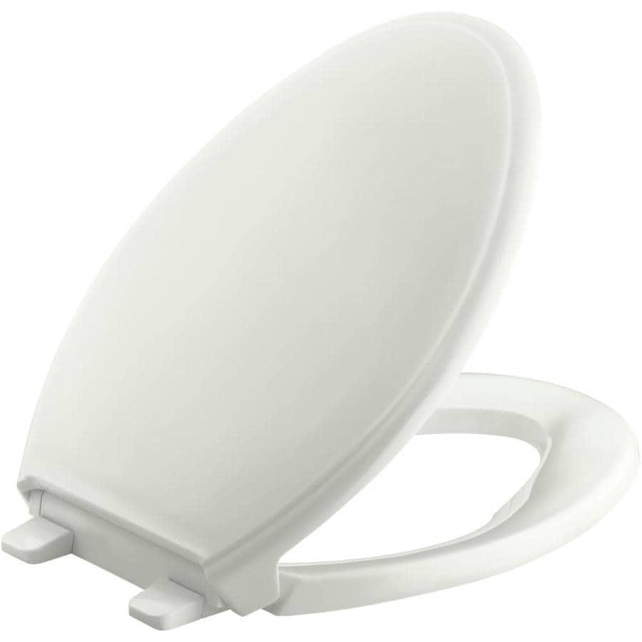 KOHLER Grip-Tight Glenbury Plastic Slow-Close Toilet Seat