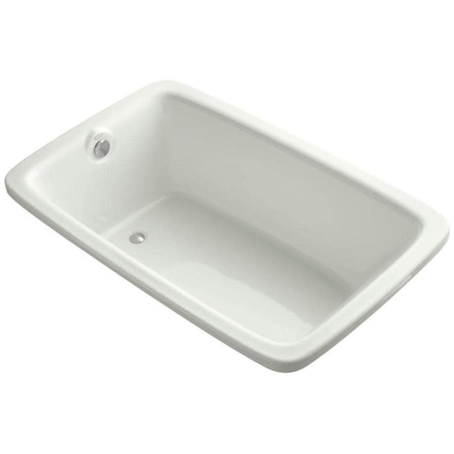 KOHLER Bancroft 65.8750-in Dune Acrylic Drop-In Bathtub with Reversible Drain