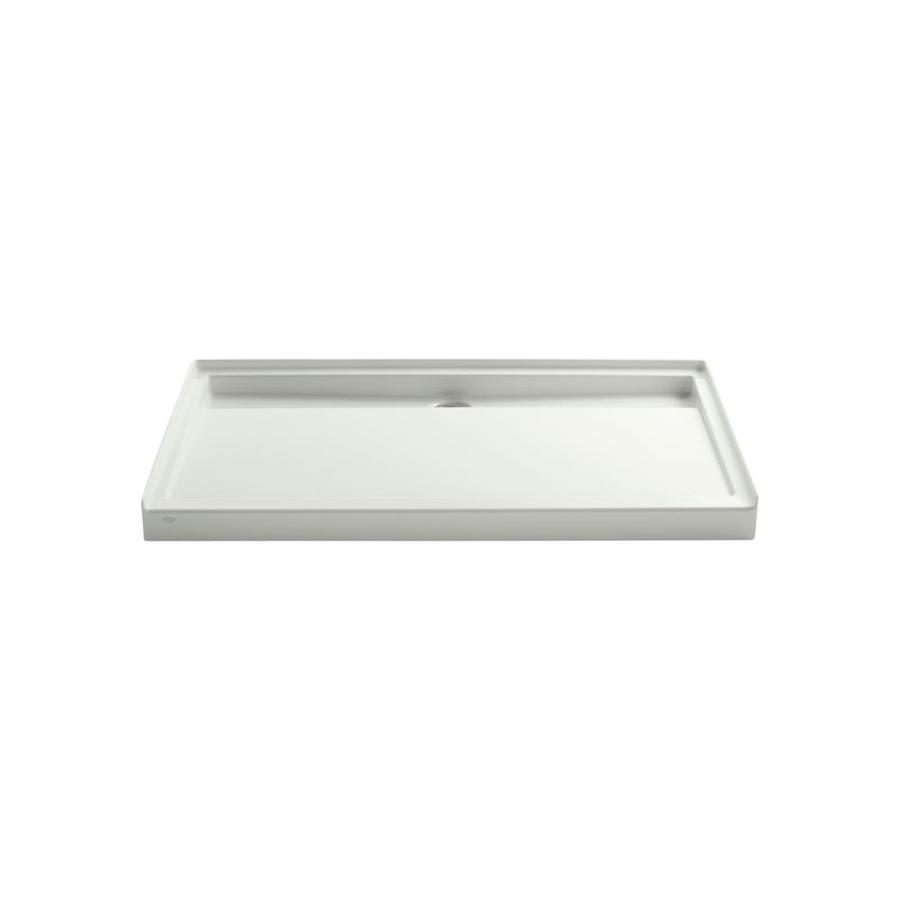 KOHLER Groove Dune Acrylic Shower Base (Common: 36-in W x 60-in L; Actual: 36-in W x 60-in L)