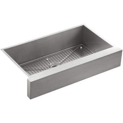 Vault 35 5 In X 21 25 Stainless Steel Single Bowl Short 7 Or Less Drop Undermount Residential Kitchen Sink