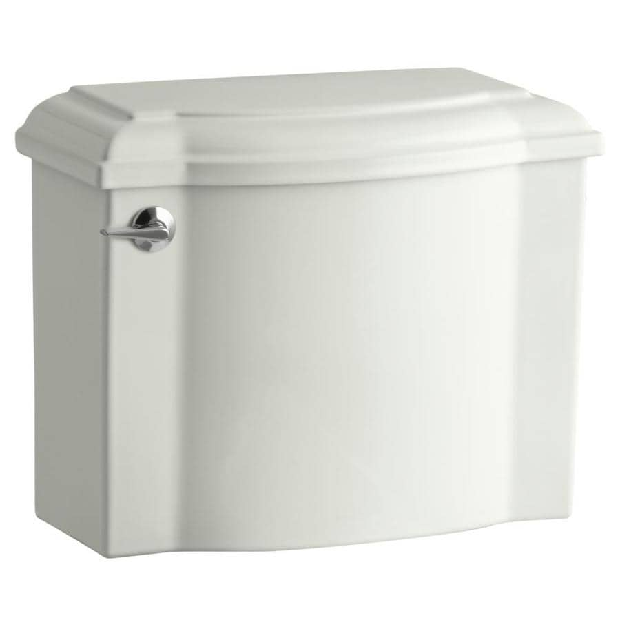 KOHLER Devonshire Dune 1.28-GPF (4.85-LPF) 12-in Rough-In Single-Flush High-Efficiency Toilet Tank