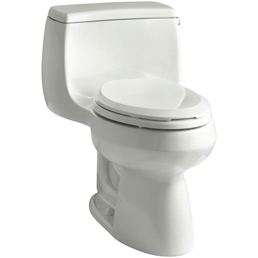 KOHLER Gabrielle 1.28-GPF (4.85-LPF) Dune WaterSense Compact Elongated Chair Height 1-Piece Toilet