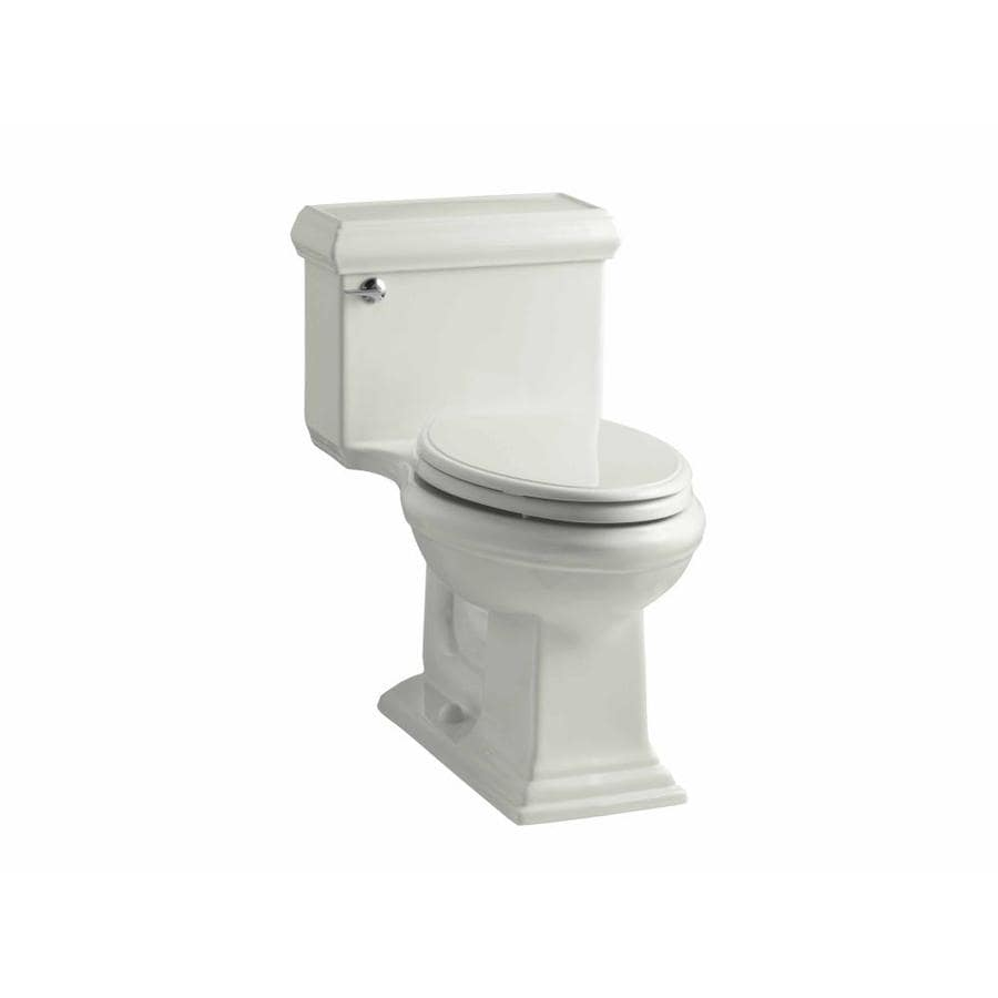 KOHLER Memoirs 1.28-GPF Dune WaterSense Elongated Chair Height 1-Piece Toilet