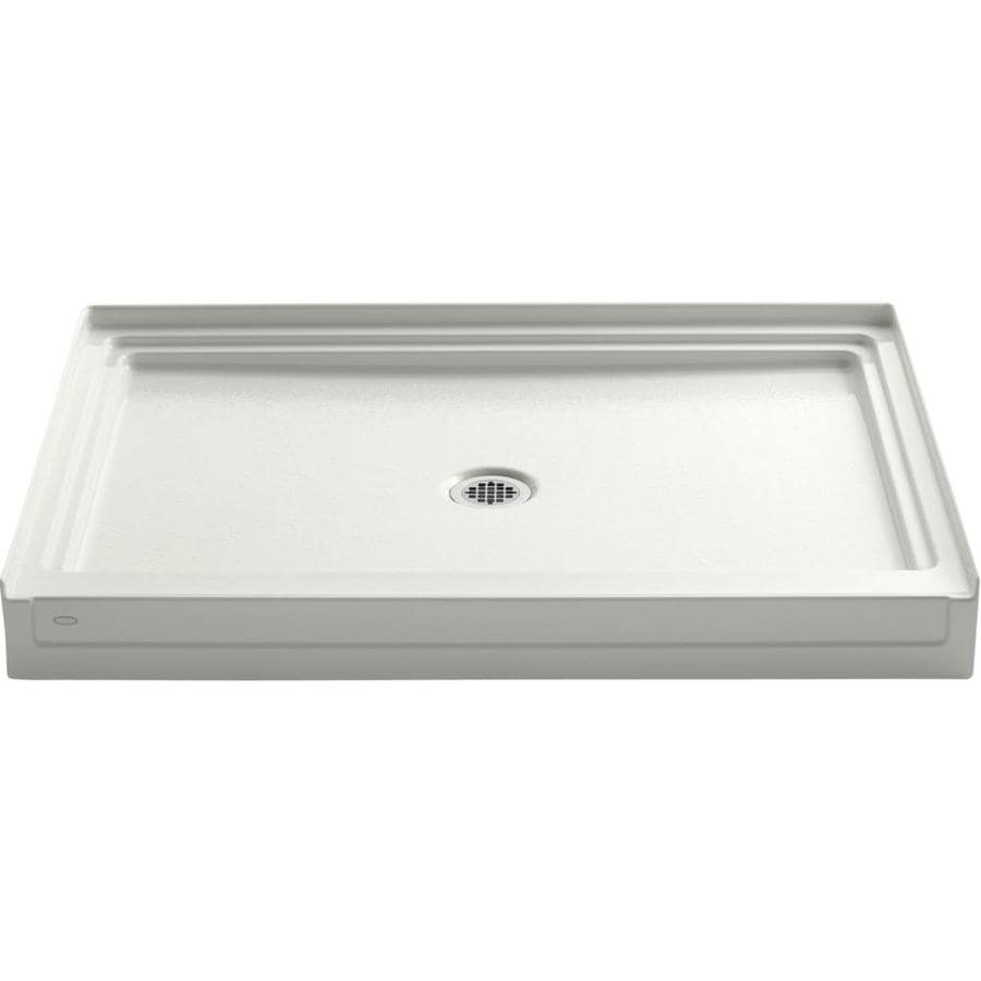 KOHLER Tresham Dune Acrylic Shower Base (Common: 36-in W x 48-in L; Actual: 36-in W x 48-in L) with Center Drain