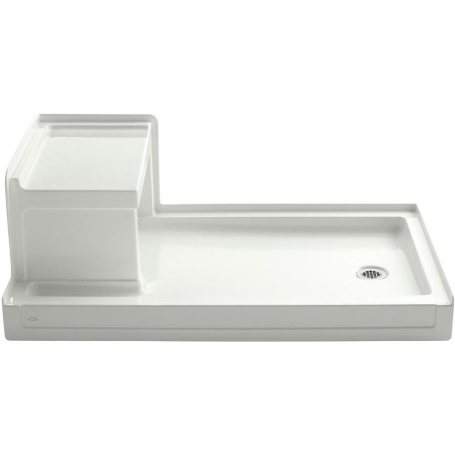 KOHLER Tresham Dune Acrylic Shower Base (Common: 36-in W x 60-in L; Actual: 36-in W x 60-in L)