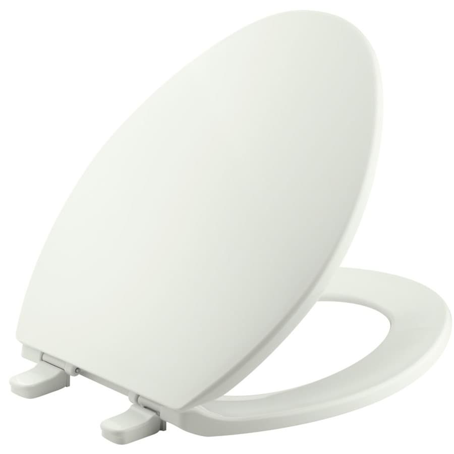 KOHLER Brevia Plastic Elongated Toilet Seat