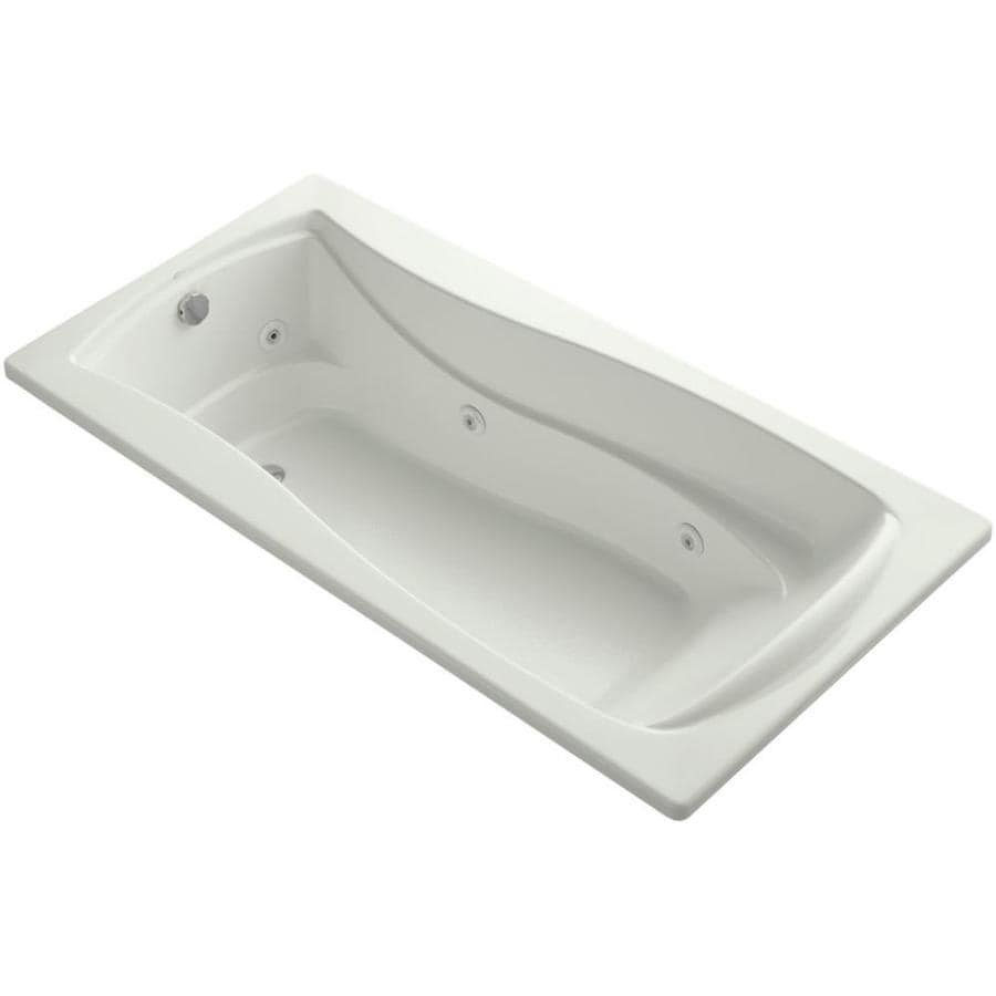 KOHLER Mariposa Dune Acrylic Hourglass In Rectangle Whirlpool Tub (Common: 36-in x 72-in; Actual: 20.0000-in x 36.0000-in x 72.0000-in)