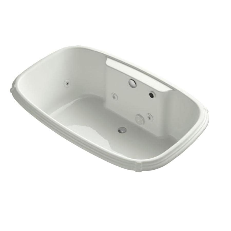 KOHLER Portrait Dune Acrylic Rectangular Whirlpool Tub (Common: 42-in x 67-in; Actual: 22.0000-in x 42.0000-in x 67.0000-in)