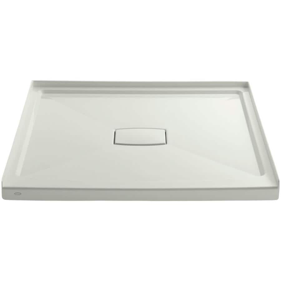 KOHLER Archer Dune Acrylic Shower Base (Common: 48-in W x 48-in L; Actual: 48-in W x 48-in L) with Center Drain