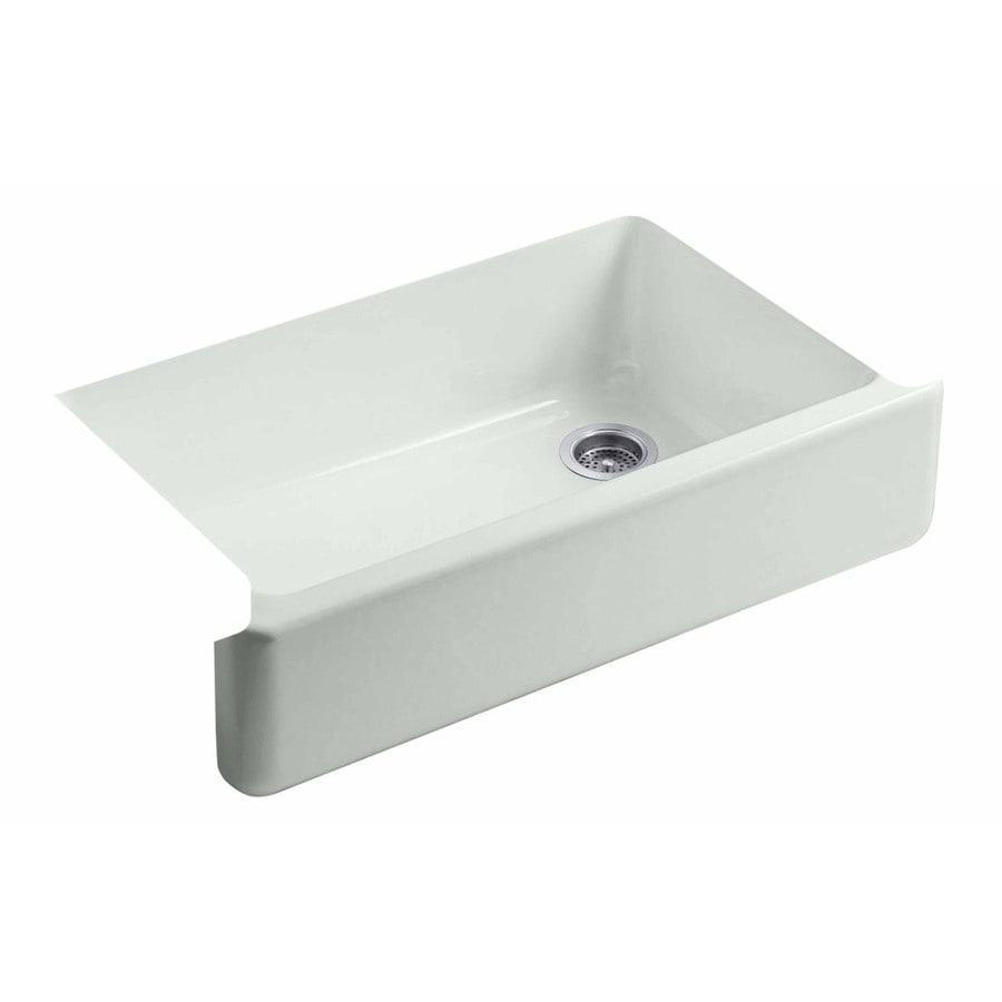 Shop KOHLER Whitehaven 21.5625-in X 35.6875-in Sea Salt