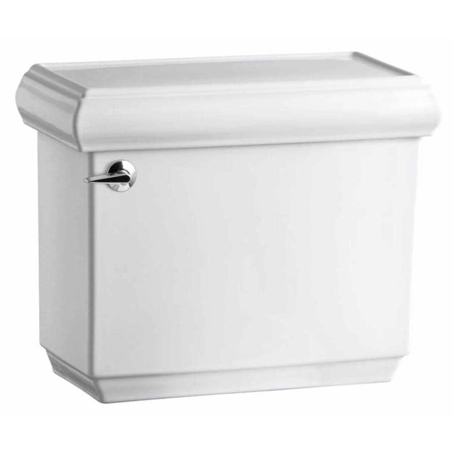 KOHLER Memoirs White 1.6-GPF (6.06-LPF) 12 Rough-In Single-Flush High-Efficiency Toilet Tank