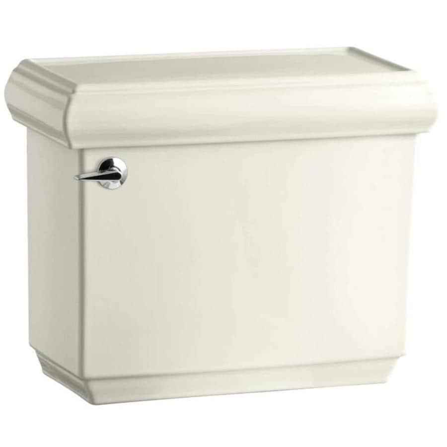 KOHLER Memoirs Biscuit 1.6-GPF (6.06-LPF) 12 Rough-In Single-Flush High-Efficiency Toilet Tank