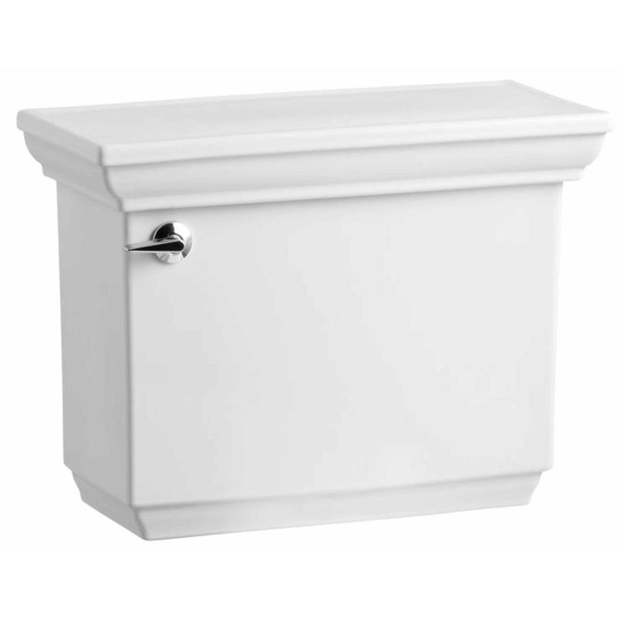KOHLER Memoirs White 1.6-GPF Single-Flush High-Efficiency Toilet Tank
