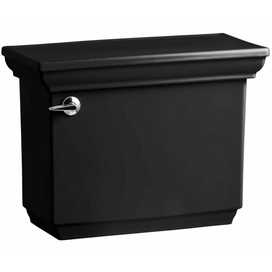 KOHLER Memoirs Black 1.6-GPF Single-Flush High-Efficiency Toilet Tank
