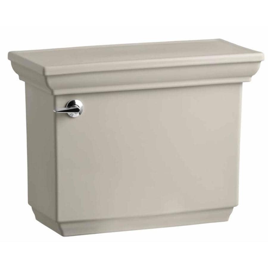 KOHLER Memoirs Sandbar 1.6-GPF Single-Flush High-Efficiency Toilet Tank