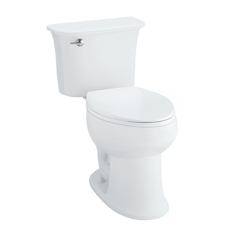 Sterling Stinson 1.28-GPF (4.85-LPF) White WaterSense Chair Height 2-Piece Toilet
