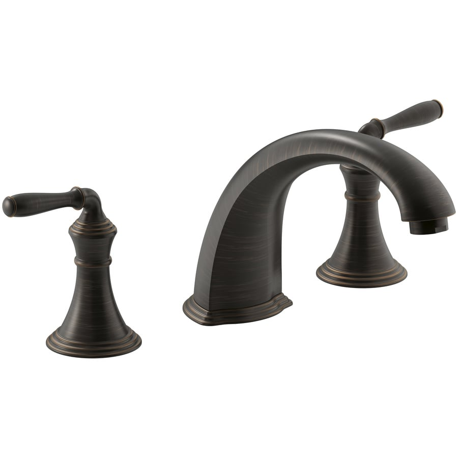 KOHLER Devonshire Oil-Rubbed Bronze 2-Handle Widespread Bathroom Faucet