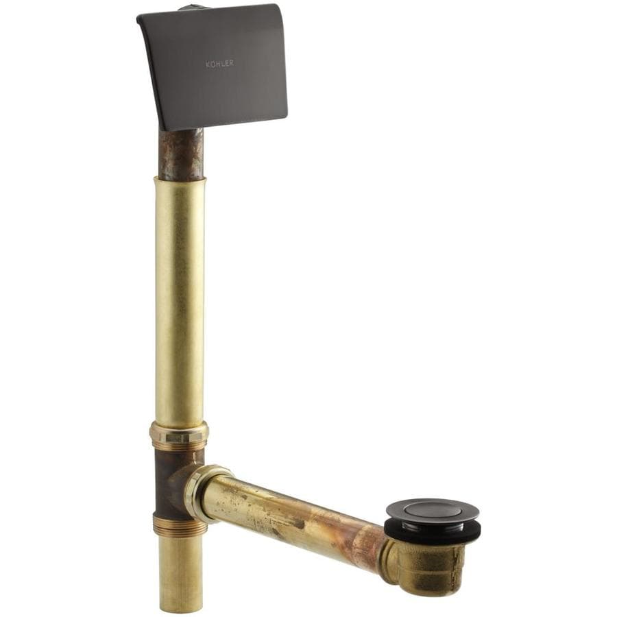 KOHLER 1-1/2-in Oil-Rubbed Bronze Cable Drive with Brass Pipe