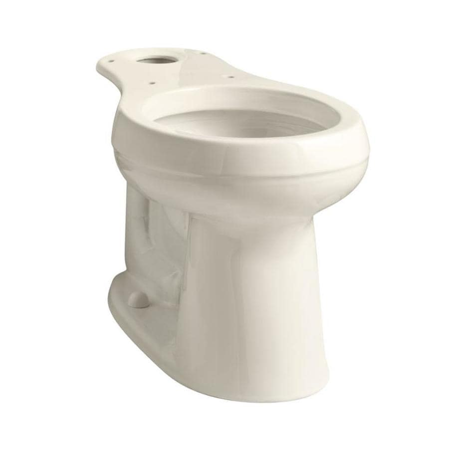 KOHLER Cimarron Chair Height Almond 10 Rough-In Round Toilet Bowl