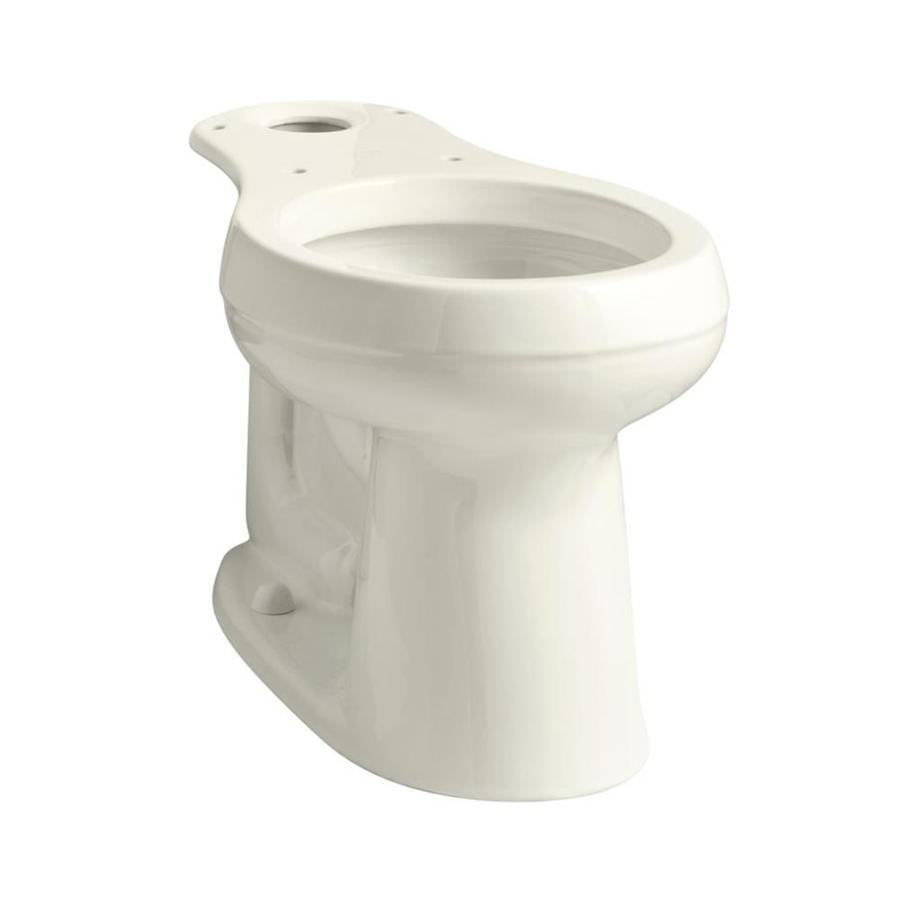Shop Kohler Cimarron Biscuit Round Chair Height Toilet