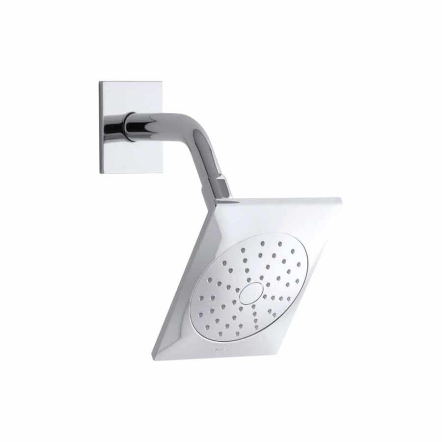 KOHLER Loure 6.3125-in 2.0-GPM (7.6-LPM) Polished Chrome 1-Spray WaterSense Showerhead