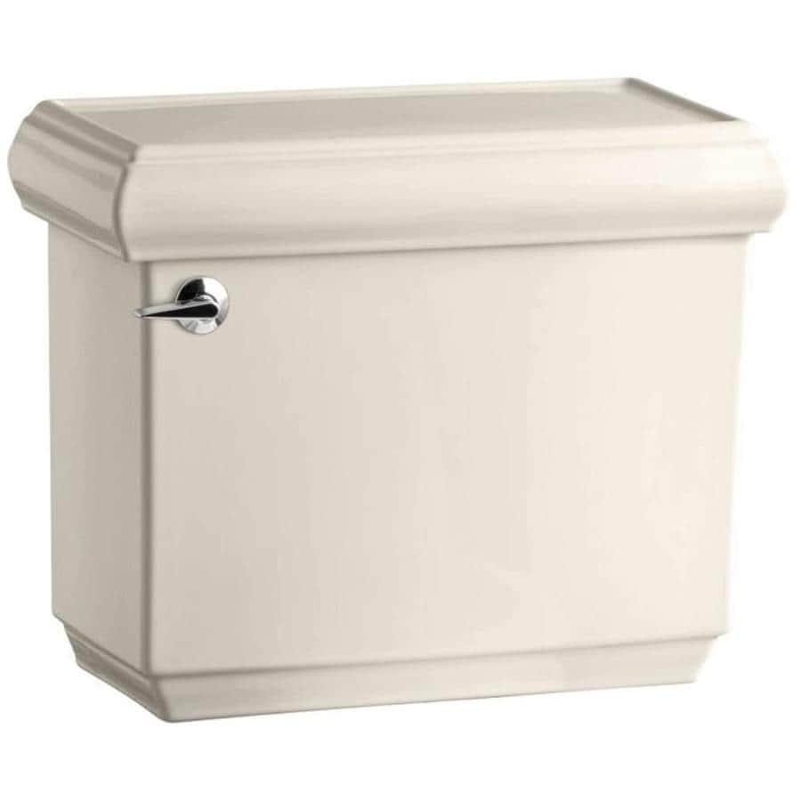 KOHLER Memoirs Almond 1.28-GPF (4.85-LPF) 12 Rough-In Single-Flush High-Efficiency Toilet Tank