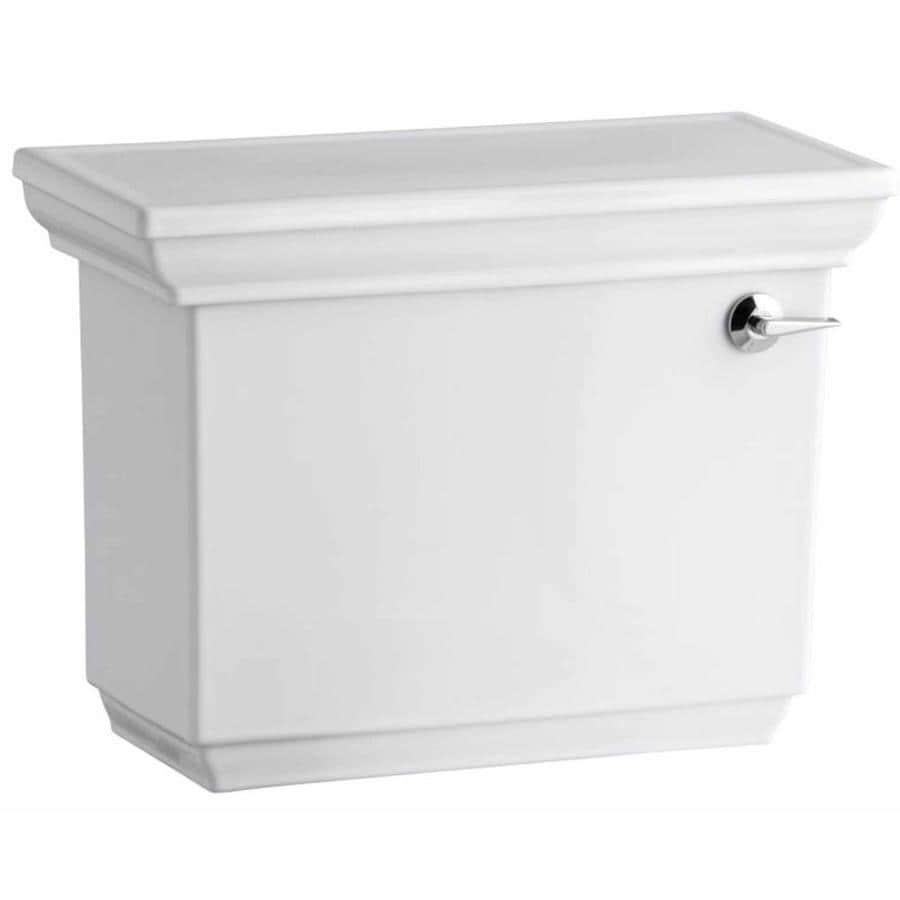 KOHLER Memoirs White 1.28-GPF Single-Flush High-Efficiency Toilet Tank