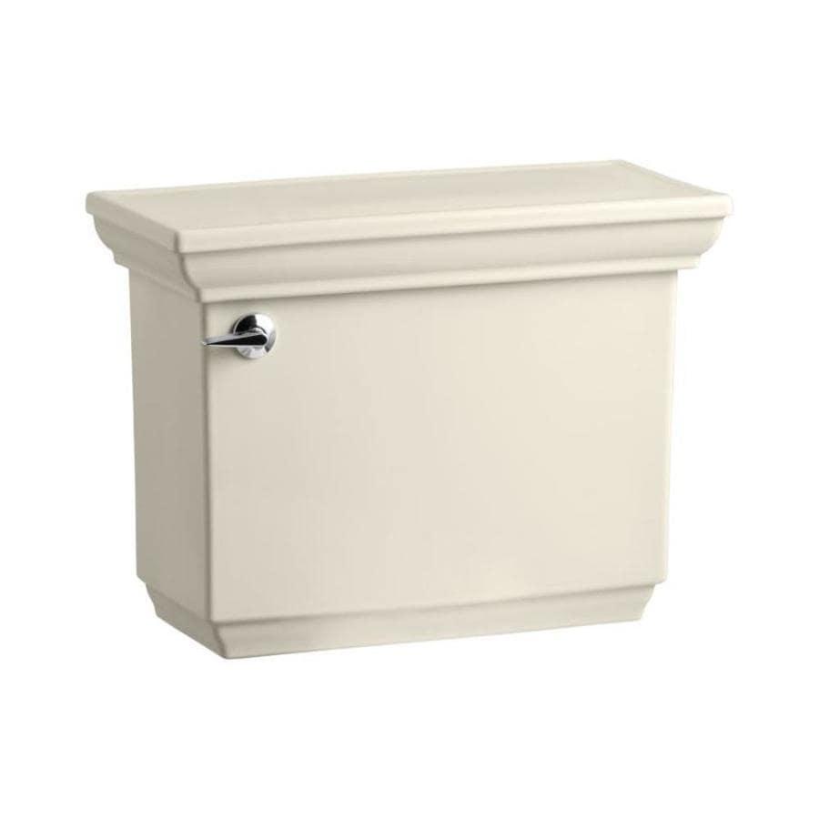 KOHLER Memoirs Almond 1.28-GPF (4.85-LPF) 12-in Rough-in Single-Flush High-Efficiency Toilet Tank