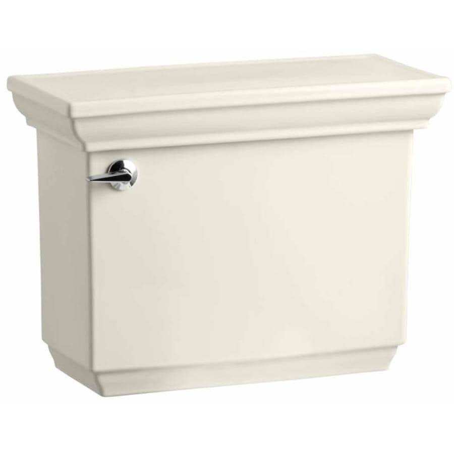 KOHLER Memoirs Biscuit 1.28-GPF Single-Flush High-Efficiency Toilet Tank