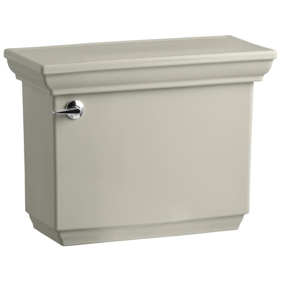 KOHLER Memoirs Sandbar 1.28-GPF (4.85-LPF) 12-in Rough-in Single-Flush High-Efficiency Toilet Tank