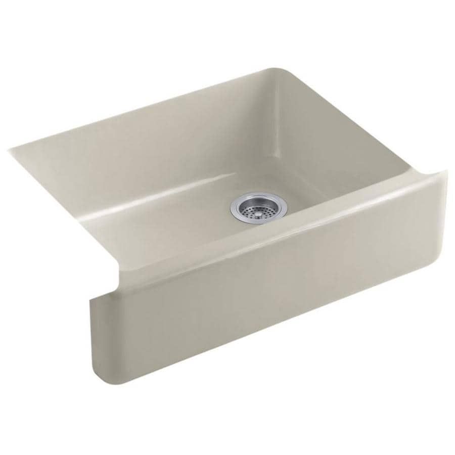 KOHLER Whitehaven 29.68-in X 21.56-in Sandbar Single-Basin