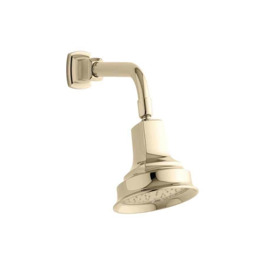 KOHLER Margaux Vibrant french gold 1-Spray Shower Head