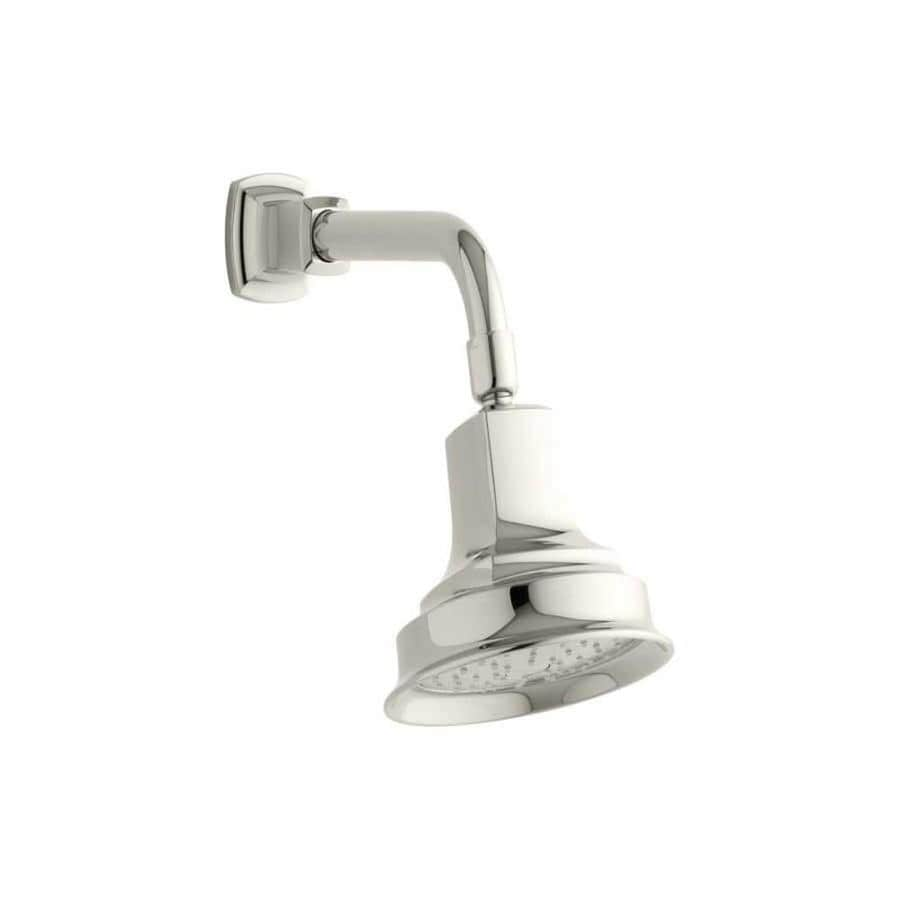 KOHLER Margaux 5.9375-in 2.0-GPM (7.6-LPM) Vibrant Polished Nickel 1-Spray WaterSense Showerhead