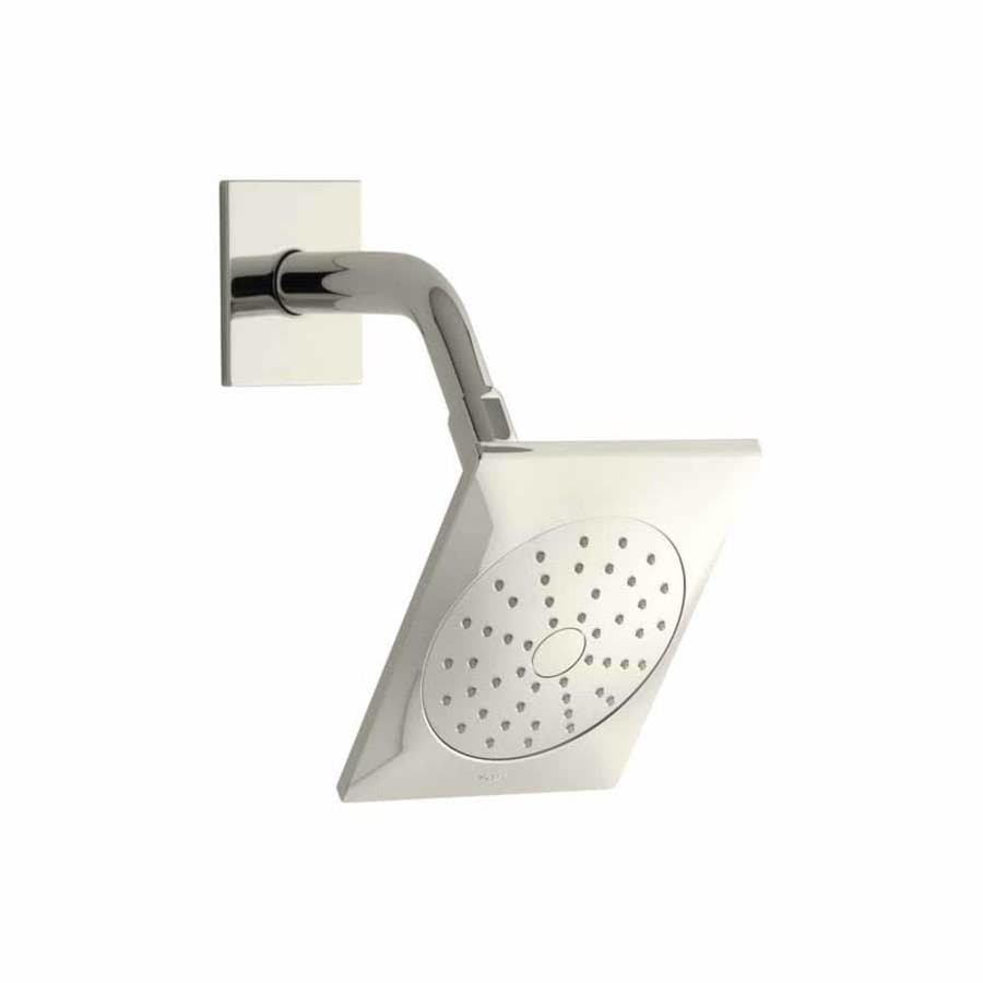 KOHLER Loure 6.3125-in 2.0-GPM (7.6-LPM) Vibrant Polished Nickel 1-Spray WaterSense Showerhead