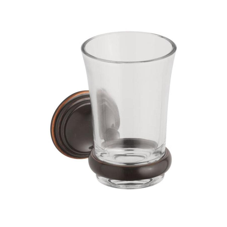 KOHLER Devonshire Oil-Rubbed Bronze Glass Soap Dish