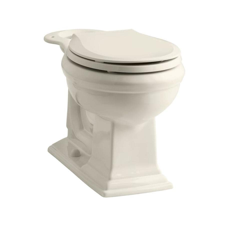 KOHLER Memoirs Almond Round Chair Height Toilet Bowl