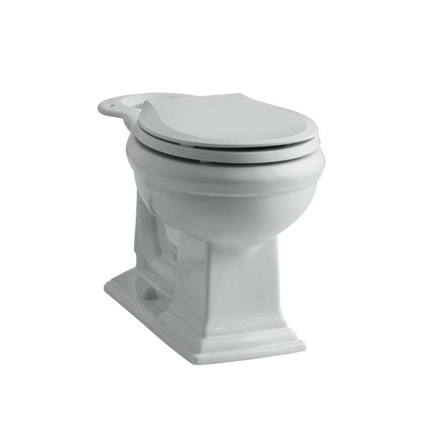 KOHLER Memoirs Chair Height Ice Gray 12 Rough-In Round Toilet Bowl