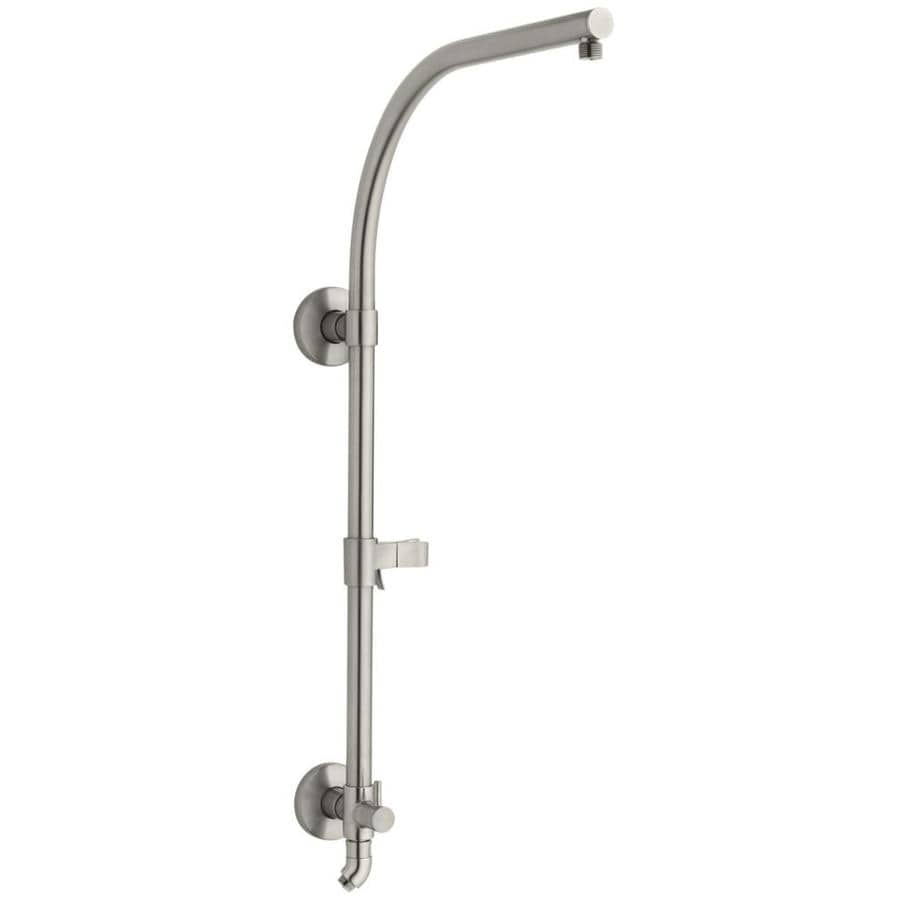 KOHLER Hydrorail Vibrant Brushed Nickel Slide Bar