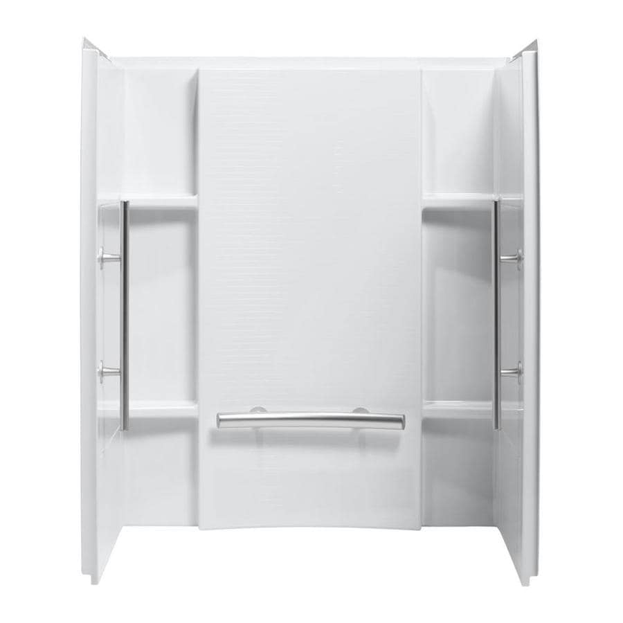 Shop Sterling Accord White Shower Wall Surround Side And
